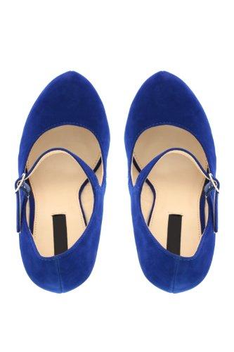 Go Tendance - Zapatillas de soft tennis para mujer azul - Bleu Royal