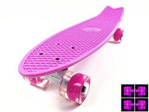 Wonnv Retro Cruiser Complete Skateboard