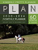 5 year monthly planner 2020-2024: Monthly Schedule
