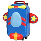 Stephen Joseph Airplane Rolling Backpack, Multi-Colored, One Size, 1-Pack