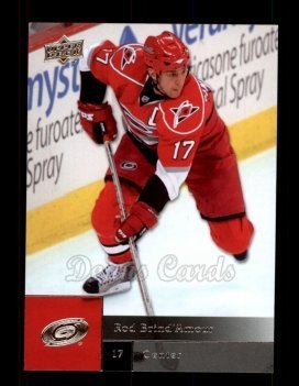 - 2009 Upper Deck # 81 Rod Brind`Amour Carolina Hurricanes (Hockey Card) Dean's Cards 8 - NM/MT Hurricanes