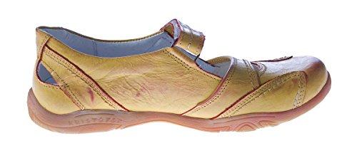 Ladies Leather Comfort Ballet Flats Kristofer 2007 Low Sandals sandal Mango Orange Orange - Mango Orange CZgbVDyQS