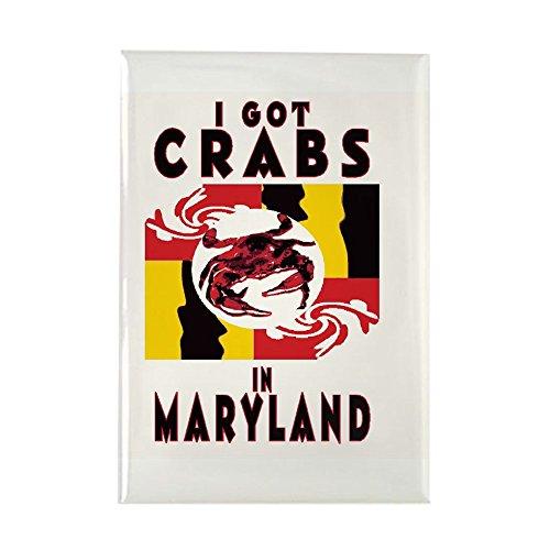CafePress - I Got Crabs In Maryland - Rectangle Magnet, 2