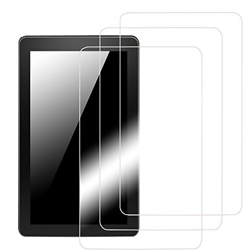 Fintie Screen Protector for Samsung Galaxy Tab E 8.0, Ultra-Clear HD Screen Protector (3-Pack with Retail Packaging) - High Definition Invisible Protective Screen Film