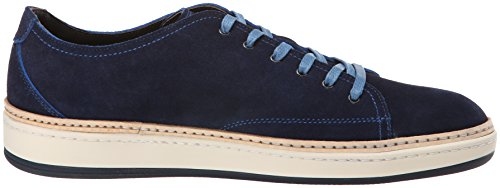 Att Starta New York Mens Geoffrey Mode Sneaker Blå