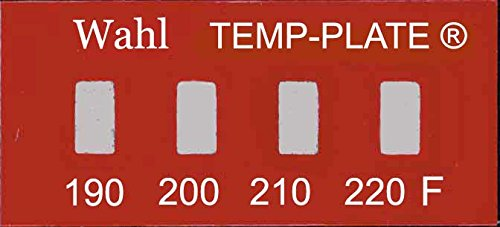 Wahl Instruments 101-4-190F Mini Four-Position Temp-Plate, 190, 200, 210 and 220 degrees F (Pack of 10) Inc.