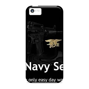 For GoldenArea Iphone Protective Case, High Quality For Iphone 5c Navy Seal Skin Case Cover