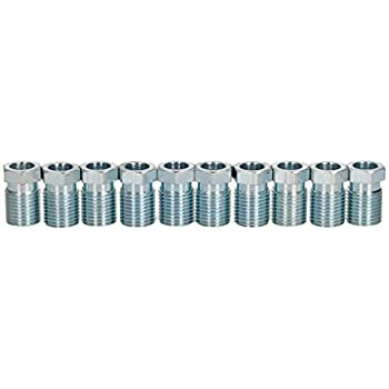 AB Tools-Bond Steel Male Brake Pipe Union Fittings 1//2 x 20 UNF for 5//16 Brake Pipe 10pc