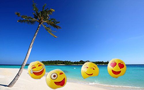 Dog Poop Machine Costume (Moji Emoji Inflatable (12 pack) Pool Party Beach Balls)