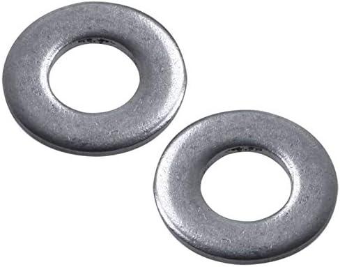 WSHR-100736 100pcs M3 3 mm Metric 304 Stainless Steel Flat Washer