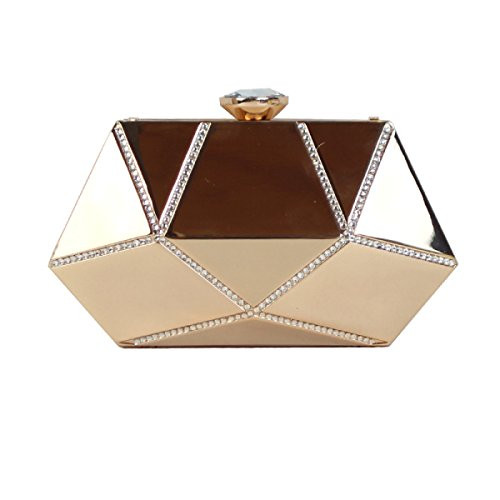 GSHGA Nuevo Mini Bolso De Hombro Del Embrague De Las Mujeres Messenger Bag Purpurina