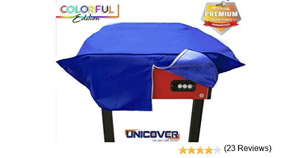 Unicover - Funda para futbolín - Colorful Reforzado Azul: Amazon ...