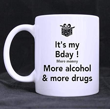 Lesketh Personalized Its My Bday More Money More Alcohol