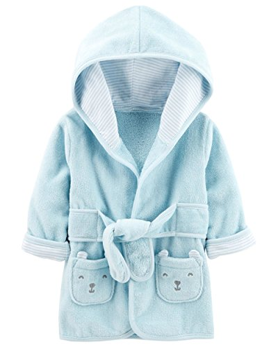 Carter's Baby's Hooded Robe (0-9 Months, Blue) by Carter's
