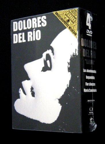 Dolores Del Rio 4-dvd boxset (Maria Candelaria / Las Abandonadas / Flor Silvestre / Bugambilia) [*Ntsc/region 1 & 4 Dvd. Import-latin America]