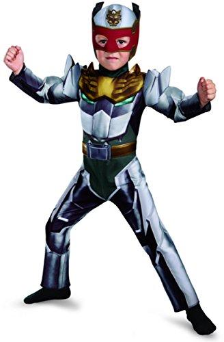 Disguise Power Rangers Megaforce Robo Knight Muscle Costume, 2T (Power Ranger Megaforce Costumes)