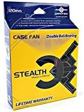 Vantec Stealth SF6025L 60x60x25mm Double Ball Bearing Silent Case Fan Black