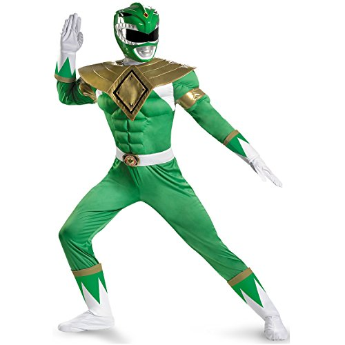 Green Ranger Classic Muscle Costume