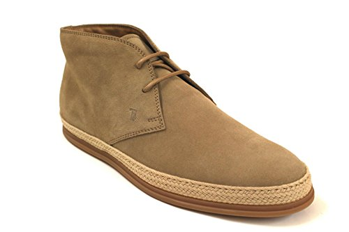 TOD'S HOMME XXM0TV00D80RE0C600 BEIGE SUÈDE BOTTINES