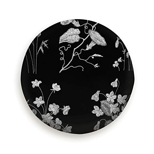 (xiaolang White Lace Traditional Folk Flower Fashionable Embroidery Spare Wheel Tire Cover 15inch)