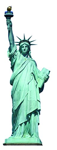 Liberty Cardboard - Aahs Engraving Statue of Liberty Cardboard Stand Up, 6 feet