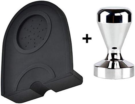 Espresso Coffee Tamper Mat Silicon Rubber Corner Mat Coffee Maker Tamper