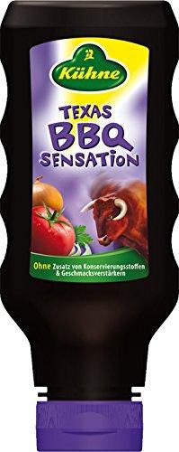 Kühne Würzsauce Texas BBQ Sensation, 8er Pack (8 x 250 ml)