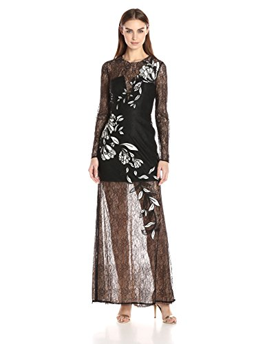 BCBGMax-Azria-Womens-Veira-Embroidewred-Dress