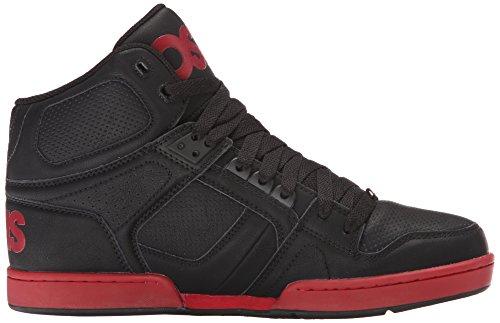 Osiris Mens Nyc83 Skate Schoen Zwart / Rood