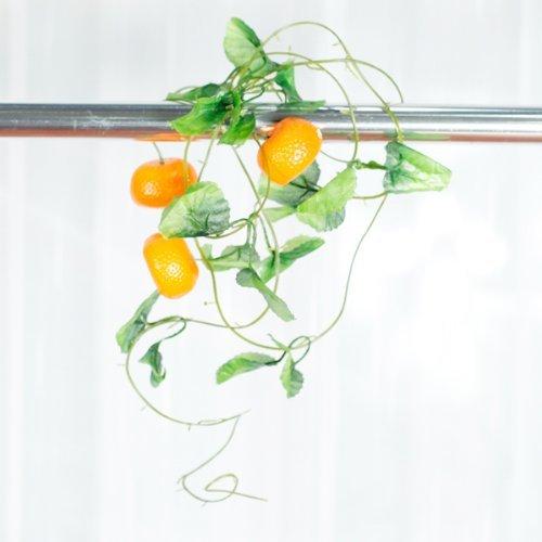 Orange Hijab - 5 Pieces Guirlandes Des Oranges Artificiels Pour La Orange Et Vert Sodial - Hijab Rabbit Brown Invitations Wedding Orange Artificial Dried Flowers Bracelet Karma Shaker Free
