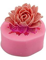 Love DIY Home(TM)Flower Shape Fondant Mold Silicone Sugar Craft Molds Cake Decorating tools