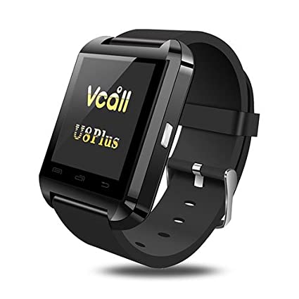 Amazon.com: Vcall U8 Plus Bluetooth SmartWatch Reloj ...