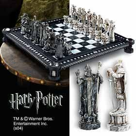 The Noble Collection Harry Potter Final Challenge Chess Set