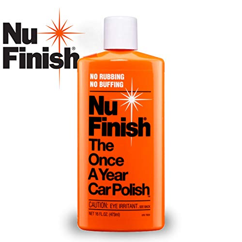 Nu Finish Liquid Car Polish, Better than Wax, 16 fl oz. (Best Car Polish For White Cars)