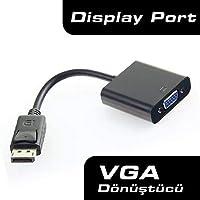 Display Port to VGA Çevirici Adaptör Projeksiyon Displayport