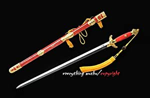 Unique Tai Chi Swords Chinese Traditional Jian Wushu Swords Long Quan Swords
