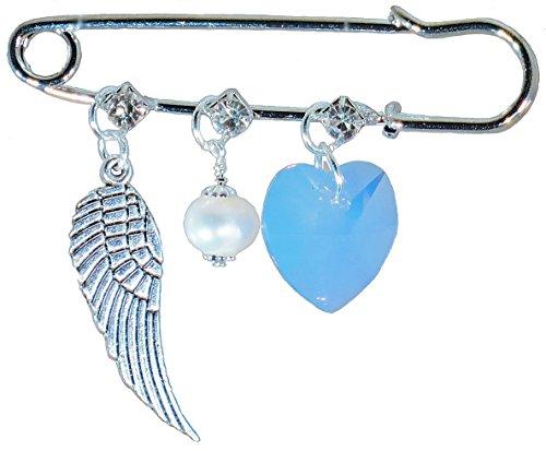Pearl Heart Pin - 6