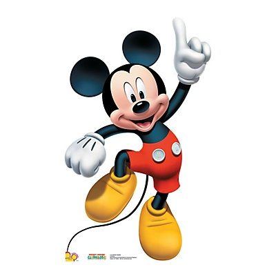 Mickey Mouse Dance Stand-Up 2 pack by