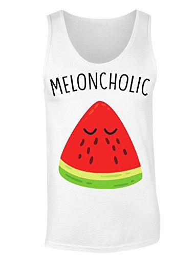 Meloncholic Crying Slice Of Watermelon T-shirt senza maniche per Donne Shirt
