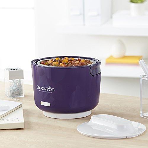 Crock Pot 24 Ounce Lunch Crock Food Warmer Deluxe Edition