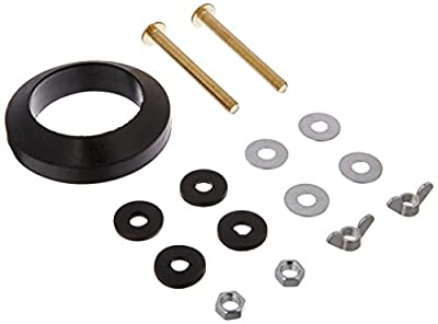 Easy Install Toilet Tank to Bowl Coupling Kit - Fits Most Toilets