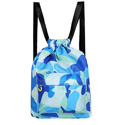 Pusheng Swimming Bag Dry Wet Separated Waterproof Gym Sports Beach Shoulders Swimming Backpack Bag by Pusheng