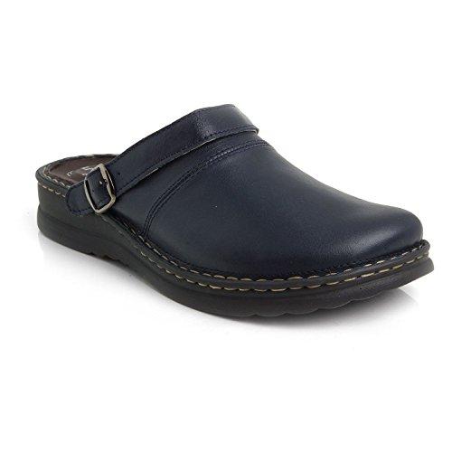 Batz ZORAN 5-Zones Handmade Leather Mens Slip-on Clogs Mules