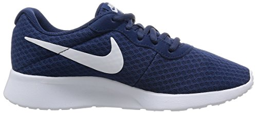 WMNS Tanjun Fille Bleu Course Blanc Marine de Nike Chaussures CUp4qaywwP