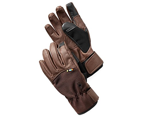 - Smartwool PhD Spring Glove (Brown) Large