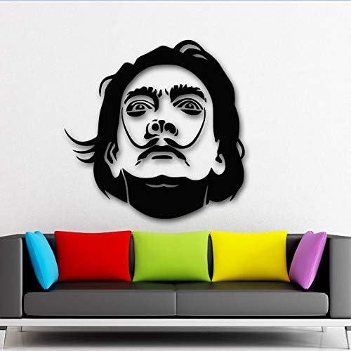 yaonuli Calcomanía de Vinilo Etiqueta de la Pared Celebridad Escultura Pintura Pintura de la Pared decoración del hogar Pared 63x109cm