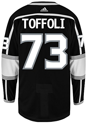 69dee75d Amazon.com : adidas Tyler Toffoli Los Angeles Kings Authentic Home ...