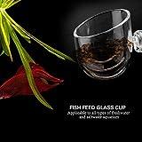 Pssopp Aquarium Live Red Worm Feeding Cone Cup
