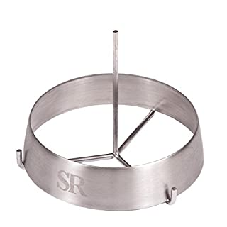 Steven Raichlen Best of Barbecue Stainless Steel Grilling Ring with Spike (3.75-inch Round) (B0007ZGUOS) | Amazon price tracker / tracking, Amazon price history charts, Amazon price watches, Amazon price drop alerts