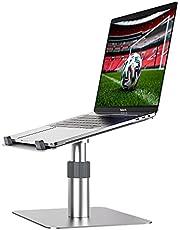 Newaner Laptop standaard aluminium, PC Houder, Hoogte Verstelbaar/360° Draaibaar, Compatibel met notebook (10-16inch) inclusief MacBook Pro/Air Surface Lenovo Hp Asus Acer Dell MSI Samsung Huawei